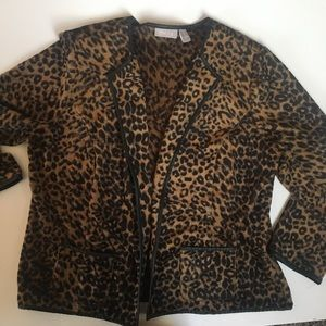 Chico's Leopard Soft Sweater